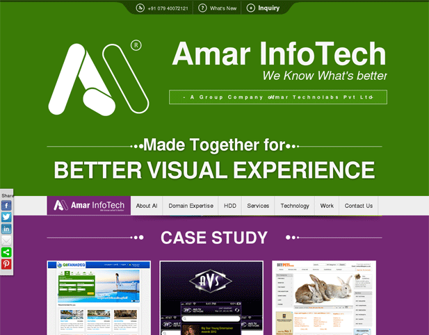 Best Responsive Website Design Amar InfoTech