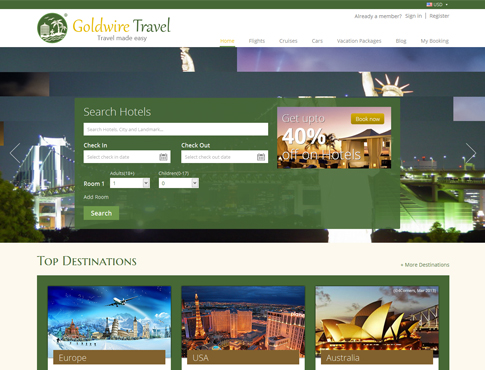Hotel Booking & Vacation Package