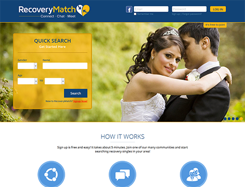 Private website for dating