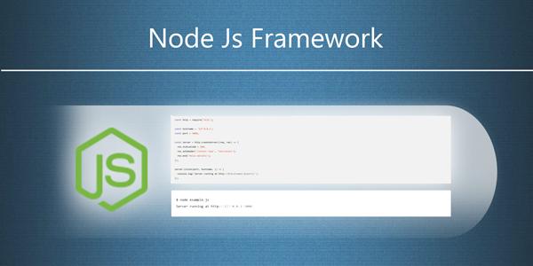 nodejs rest api framework