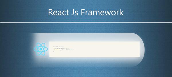 ReactJS frontend Javascript Framework