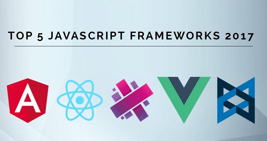 Top javascript frameworks list 2017