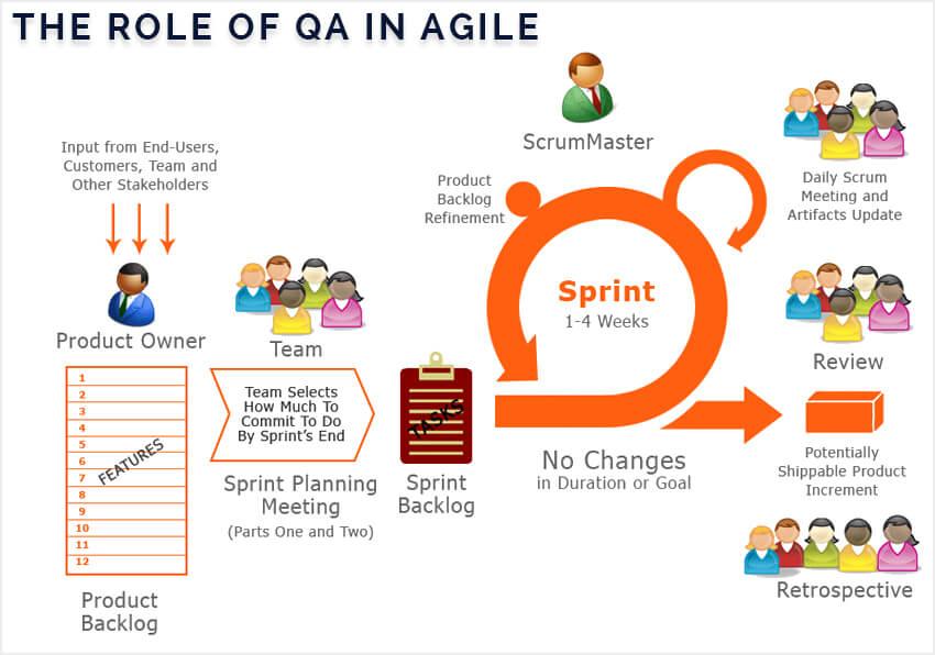 Agile Scrum Testing Process | Role Of QA In Agile Scrum