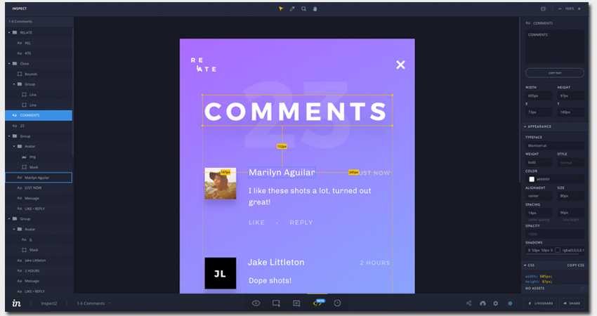 InVision - Useful Wireframing Software