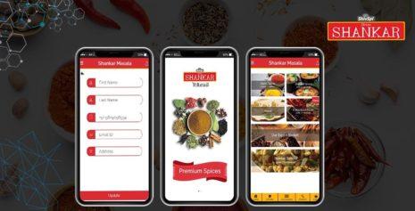 Shankar Masala - Indian Spice Masal Mobile E-Commerce App