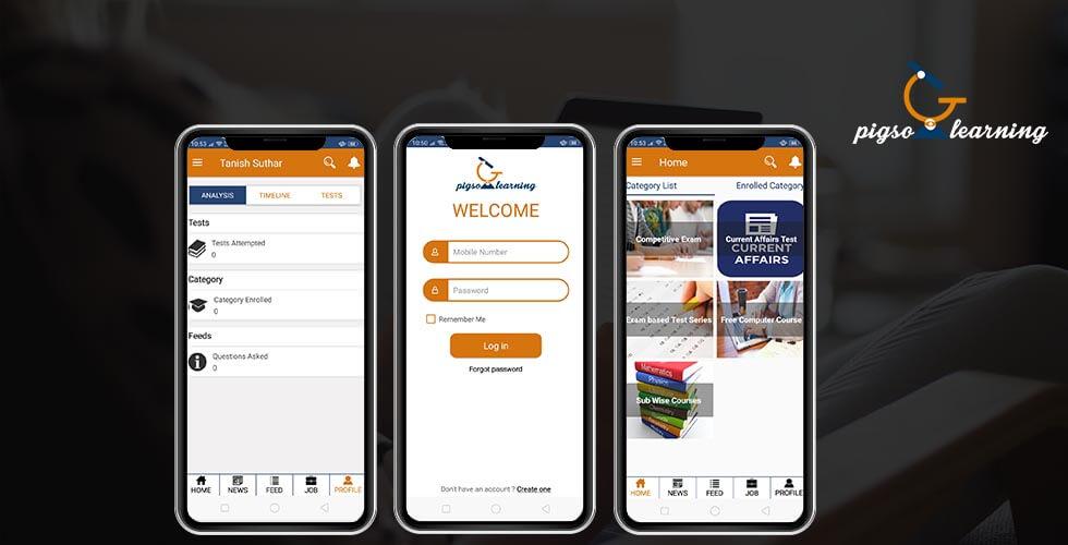 Pigso Learning - Best eLearning mobile app