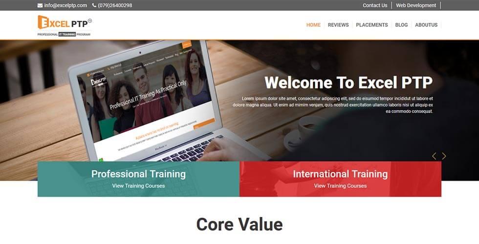 International IT Training company portfolio - Skillptp