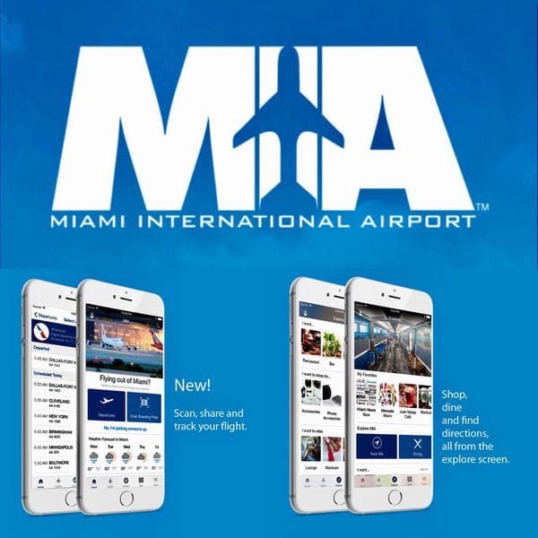 Miami Airport Mobile App