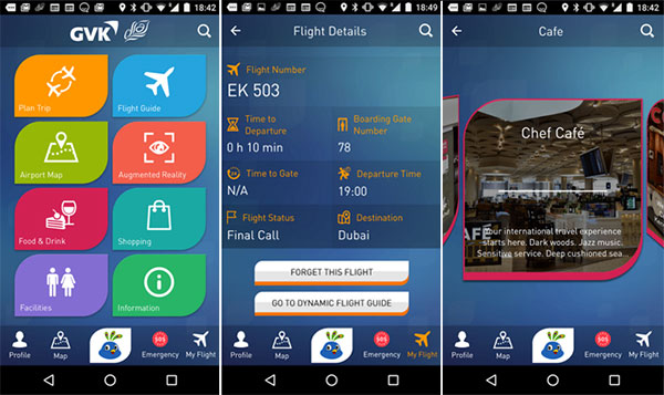 Indian Airport Mobile App