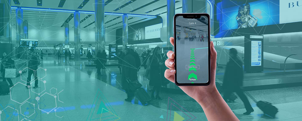 Use of Bluetooth Beacon Technology in Smart Airport