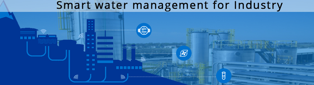 Smart water management system using IoT for Industry