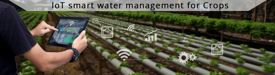 Smart crop management system using IoT
