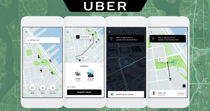 mobile app like Uber