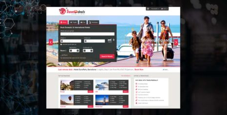 FLIGHT AND HOTEL BOOKING RESERVATION PORTAL – TRAVELFREEDEALS