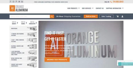 ORANGE ALUMINUM – US BASED ALUMINUM & METAL SELLING WEBSITE