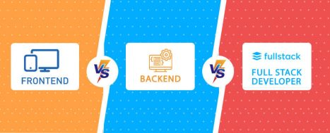 Front End vs Back End vs Full Stack Developer