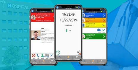 Ecall Mobile App – Healthcare Alarm Messaging App
