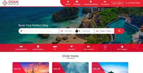 OOAK Hotel Booking System | Hotel Reservation System