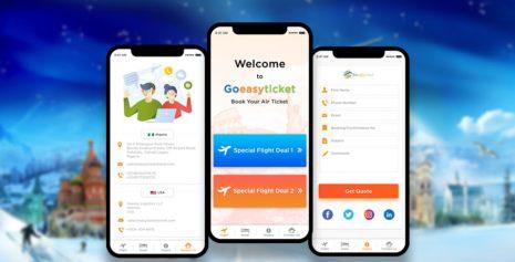 Flutter Mobile App For Travel Industry – Goeasyticket