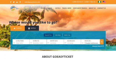 Goeasyticket.com – Flight and Hotel Solutions