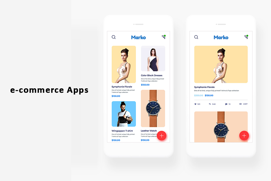 AR (Augmented Reality) for e-commerce Apps