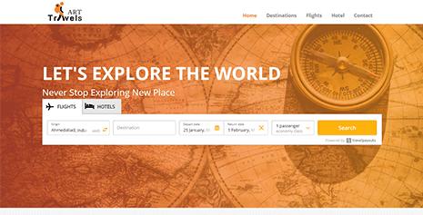 Hotel & Flight Search API Integration | Art Travels