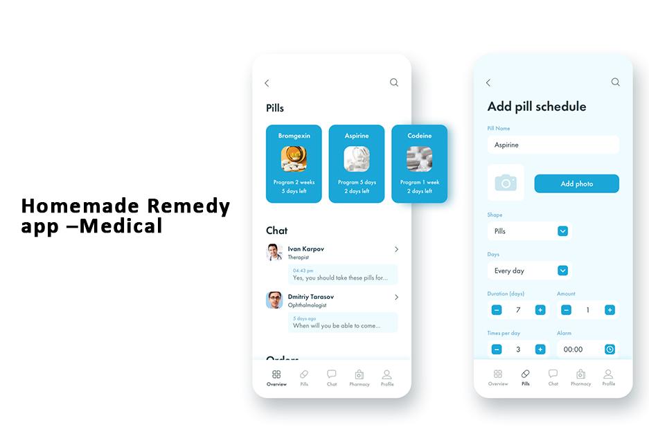 Homemade Remedy app – Medical