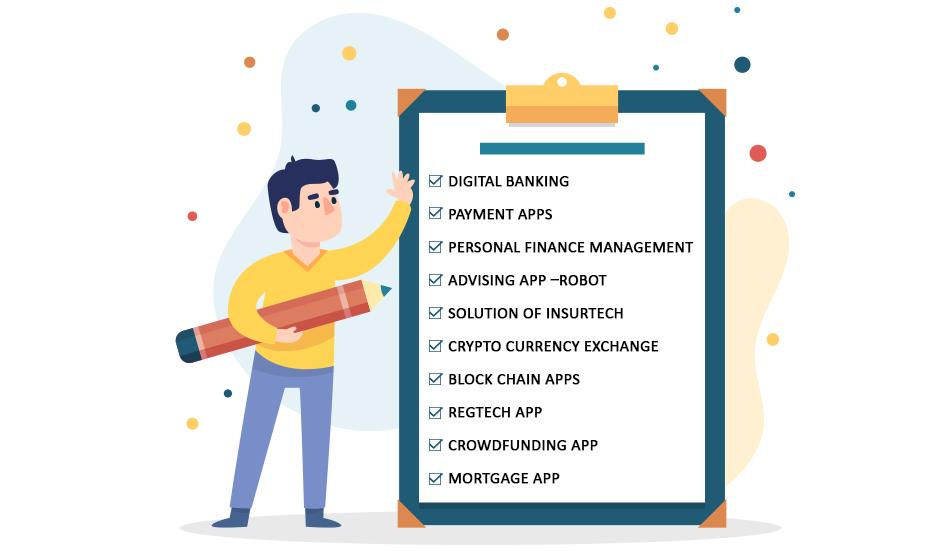 Top 10 Fintech App ideas for Start-up