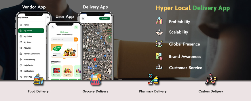 On-demand Grocery Delivery App Solutions